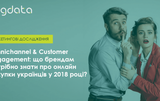 Онлайн покупки українців 2018